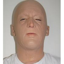 Máscara Espuma Latex Super Realista Profissional Homem Wtson