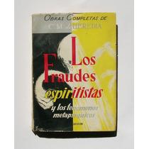 C. M. De Heredia Los Fraudes Espiritistas Libro 1961
