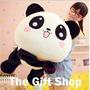 Peluche Oso Panda Almohada Antialérgico Importado Enamorados