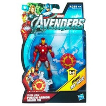 La Serie Movie Iron Man Fusión Armadura Mark Vii Figura Acci