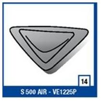 Entrada De Ar Inferior Frontal Shark S500 Air Blk