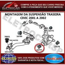 Bucha Da Manga De Eixo Traseira Civic 2001 A 2006 [47x46x12]
