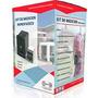 Kit Caja Medidor Pilar Monofasico Con Termica Y Disyuntor
