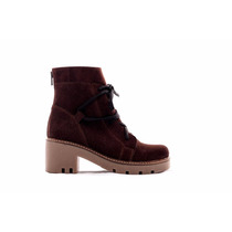 Botas Botinetas Borcegos Pamuk Color Chocolate