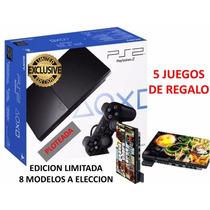 Playstation 2 Edición Limitada Varios Modelos Con Garantia