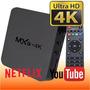 Android Tv Box Mxq 4k Octacore Gpu Netflix Lollipop Control