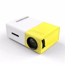 Mini Proyector Yg-300 Led 320x240pixels 1080p 600 Lumens