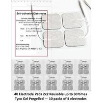 Prima 40 Electrodos De Desfibrilación 2 X2 En. Reutilizabl