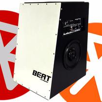 Cajon Caixa Som C/ Bluetooth Usb Eletrô Acustic Beat Enrima