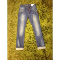 Pantalones Jeans Pitillos Liola Nuevos