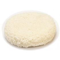 Boina De Lã Branca Macia 8¨ Dupla Face - Wimpel