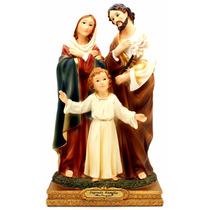 Imagem Escultura Da Sagrada Família 20cm