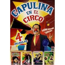 Dvd Paquete 4 Peliculas Gaspar Henaine Capulina El Circo