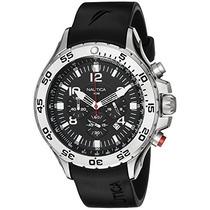 Reloj De Acero Inoxidable N14536 Nst Nautica Ho Envío Gratis