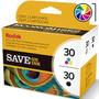Cartuchos Kodak 30xl Combo Negro + Color Esp C110 C310 2150