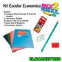 Kit / Set / Combo Escolar 5 Piezas Economico