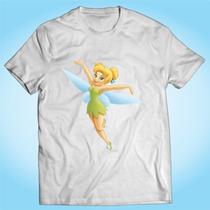 Camisa Sininho Peter Pan Never Grow Up Desenho Animado Tv