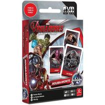 Jogo Cartas Rouba Monte Avengers Os Vingadores Era De Ultron