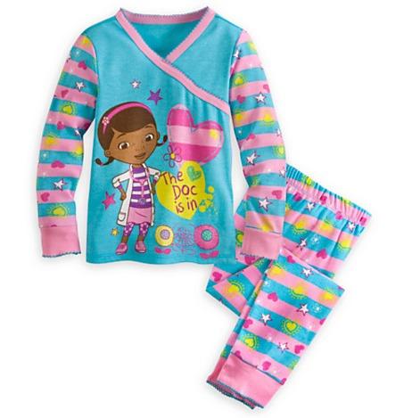 1325c9c4b7 Pijama Manga Longa Infantil Doutora Brinquedos Disney 5 Anos - R  84 ...