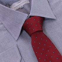 Camisa Social 100% Algodão Fio 50 Xadrez 01 1009