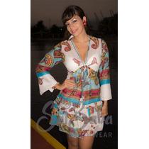 Ropa Playera - Hindu Bluson - Vestido Chiffon