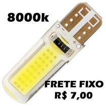 Lâmpada Pingo T10 Cob 8000k Xenon Torpedo Farol Frete R$7,00