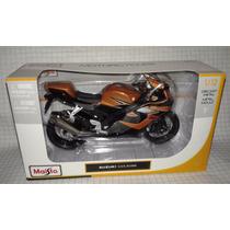 Moto Escala 1:12 Suzuki Gsx-r1000 Color Cobre Modelismo
