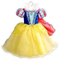 Vestido Princesa Branca De Neve Original Ljadisney P/entrega