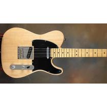 Guitarra Electrica Texas Telecaster Natural Open Music