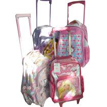 Mochilas Carrito Medianas Barbie Kitty Valentina / Open-toys