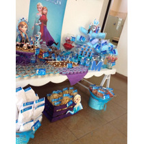 Mesa De Dulces Fiesta Cumpleaños Bautizo Baby Shower Boda