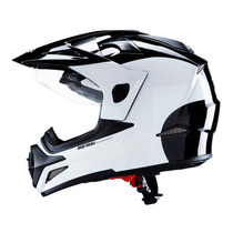 Capacete Mormaii New Converse Willy Preto Branco Dual Vision