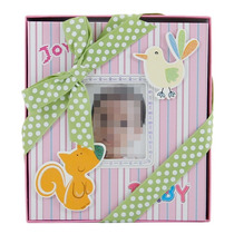 Álbum De Fotos Infantil P/ 50 Fotos 13x18 E 1 Foto Capa Rosa