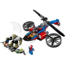 Lego Super Heroes 76016: Rescate En El Helicóptero Araña