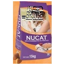 Nucat 15kgs Pet Brunch