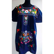 Vestidos Bordados Mexicanos Con Flores