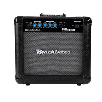 Cubo Amplificador Guitarra Maxx10 Color Mackintec Vermelha