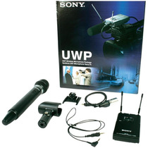 Kit Microfone De Mão Sem Fio Uwp-v2 - Sony