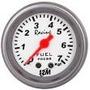Pressão Combustível Racing 52mm + Kit Instalação Mangueira