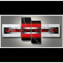 Cuadros Pintados Abstractos. Modernos. Liquido Stock
