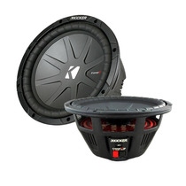 Subwoofer Kicker 12 Compr Cwr124 Doble Bobina 500 Watts Rms