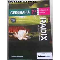 Livro Geografia 7º Ano Projeto Radix Ff