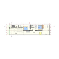 Planta Casa Apartamento 5 X 20 Metros Cad Revit- Projeto 01
