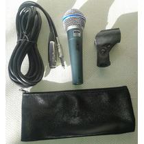 Microfono Mc 58a Rider Beta 58 C/cable Y Codo Oferta Remate