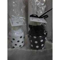 10 Souvenirs Cupcake De Toalla+pirotin+jabon Navidad