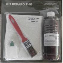 Kit Reparo Laminação Resina + Fibra De Vidro Reforma *1m²