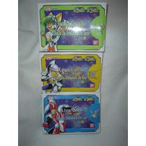 Los 3 De Acero De Bandai Caballeros Del Zodiaco Vintage Dtm