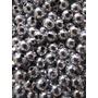500 Cuentas 6mm Plasticas Doradas Plateadas Insumos Bijou