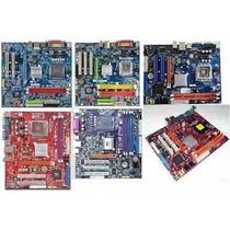 Placa-mãe Lga Socket 775 Processador Celeron D Core Duo Ddr2