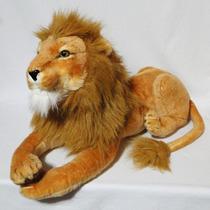 Leão De Pelúcia Real - Safari - 65cm
